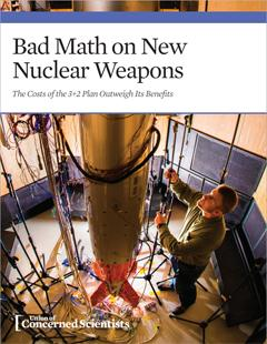 edited report on the 3+2 plan for nuclear weaons, Oct 2015