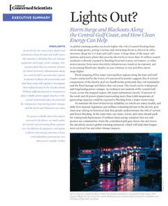 edited report and case studies on resilence of electrical grid to storm surge, Oct 2015