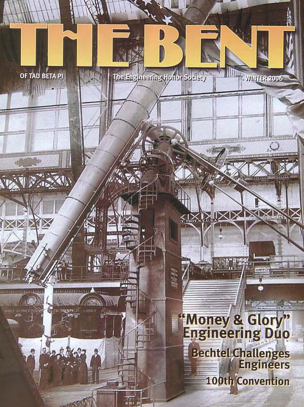 Money and Glory, The Bent of Tau Beta Pi, Winter 2006 - Warner and Swasey got their 19thC start designing the world's largest telescope