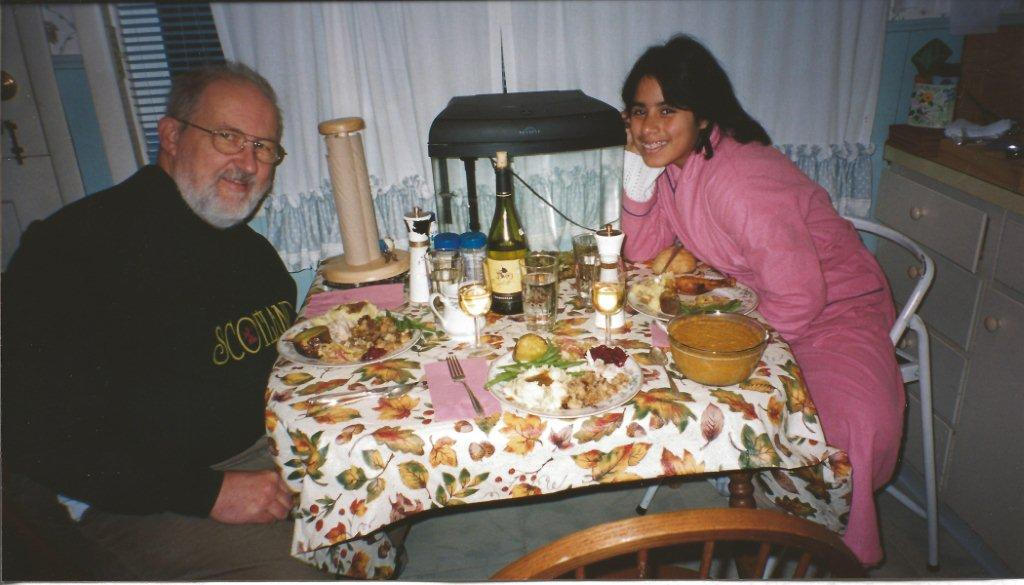 After reconciling in 2001, we spent every long weekend and holiday together. Here I snapped Craig and Rxoana at Thanksgiving 2004
