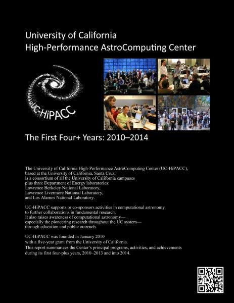 UC-HiPACC 4+Year Report 2010-2014, which I drafted and designed and includes many of my photos