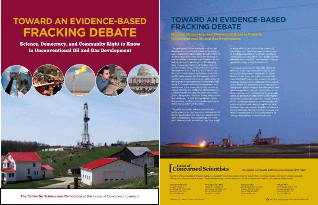 edited this 72-page report on hydraulic fracturing published October 3, 2013, heavily contributing to the first third on technology; it also publishes half a dozen of my photographs