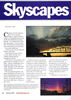 article on atmospheric optics published in a bicycling magazine! in the League of American Bicyclists Magazine for summer 2001