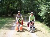my daughter Roxana and I bicycling the C&O Can.JPG