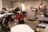 12 - teachers build a scale model of the solar system.JPG